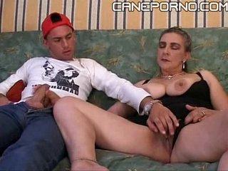 Son fucks her mom - incesto italiano