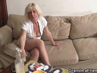 Hot blonde mature needs fresh cocks