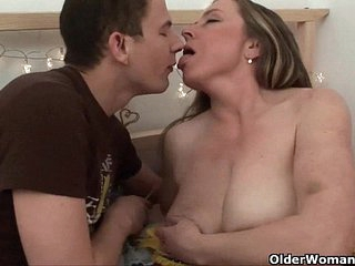 Mom knows darn well that you will fuck her