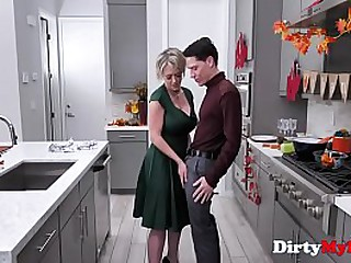 MOM blows & fucks SON